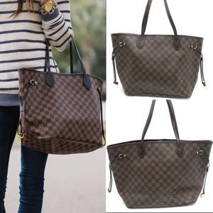 Damier Ebene Neverfull GM Tote Bag